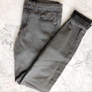 Joe's Jeans gray mid rise legging